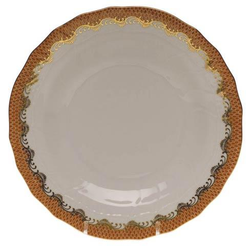$235.00 Dessert Plate - Rust