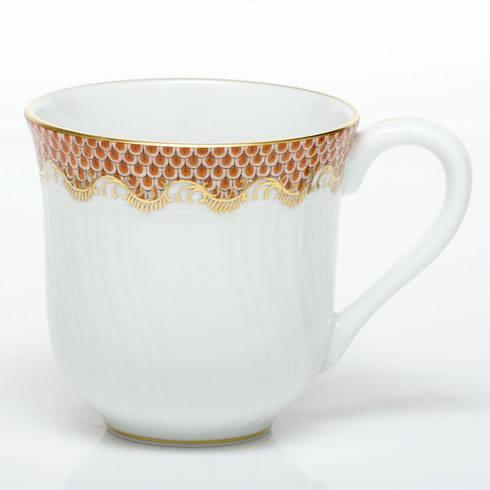 Herend Fish Scale Rust Mug - Rust $280.00