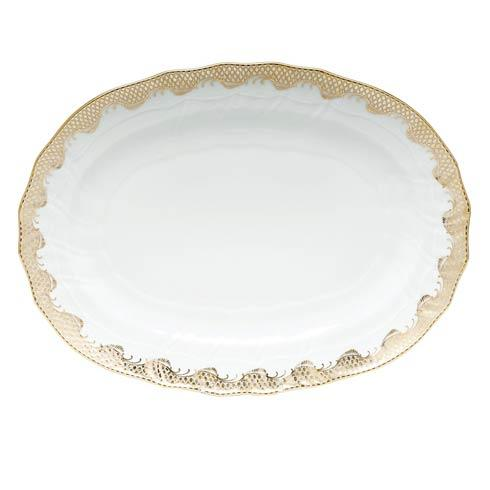 Herend Fish Scale Gold Platter  - Gold $660.00