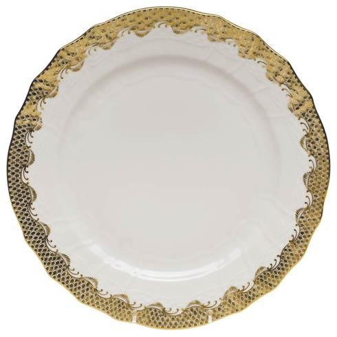 $335.00 Service Plate - Gold