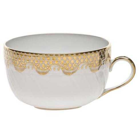 Herend Fish Scale Gold Canton Cup - Gold $190.00