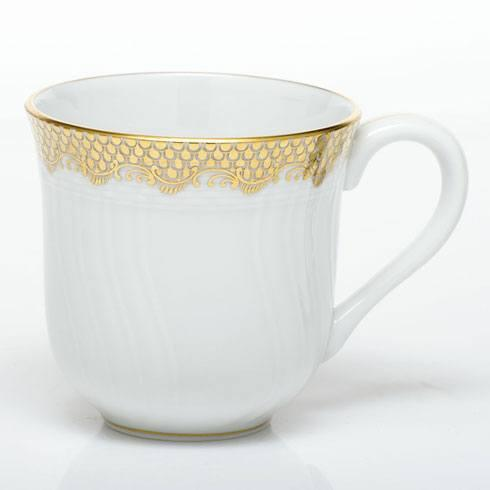 Herend Fish Scale Gold Mug - Gold $280.00