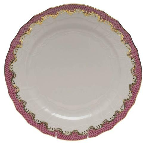 Herend  Fishscale Pink Service Plate - Pink $370.00