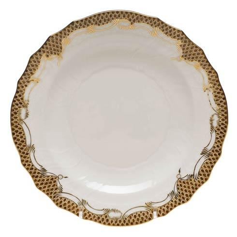 $215.00 Salad Plate - Brown