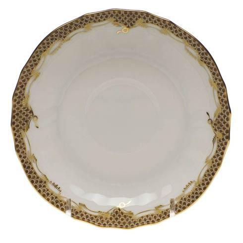 $105.00 Canton Saucer - Brown