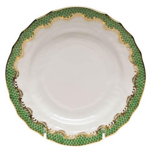 Herend  Fishscale Jade Bread & Butter Plate - Jade $190.00