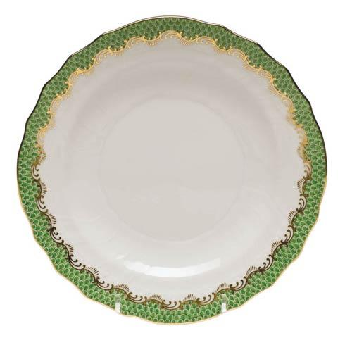 Herend Collections Fishscale Jade Salad Plate  $215.00
