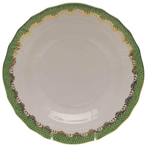 Herend  Fishscale Jade Dessert Plate - Jade $235.00