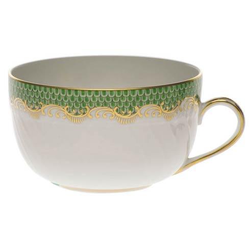 Herend  Fishscale Jade Canton Cup - Jade $210.00