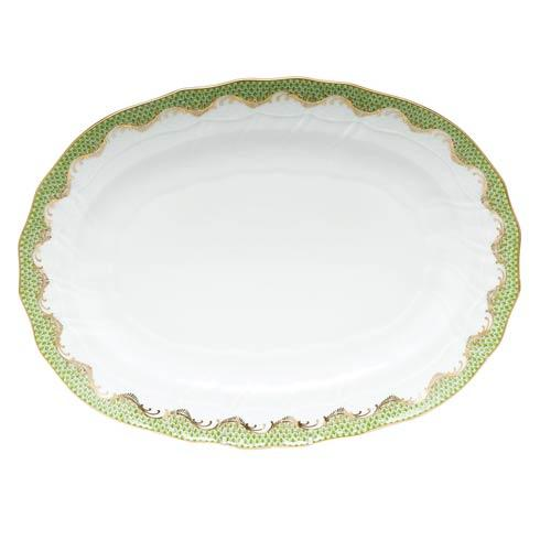 Herend Collections Fishscale Evergreen Platter  $725.00