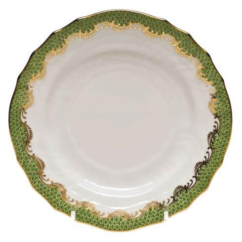Herend Fish Scale Evergreen Bread & Butter Plate - Evergreen $175.00