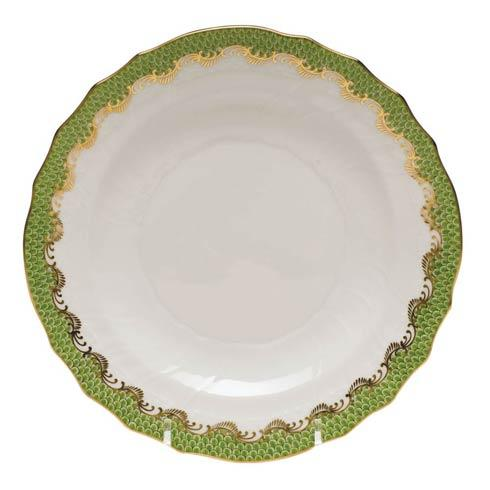 Herend Fish Scale Evergreen Salad Plate - Evergreen $195.00