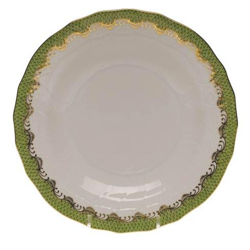 Herend Fish Scale Evergreen Dessert Plate - Evergreen $215.00