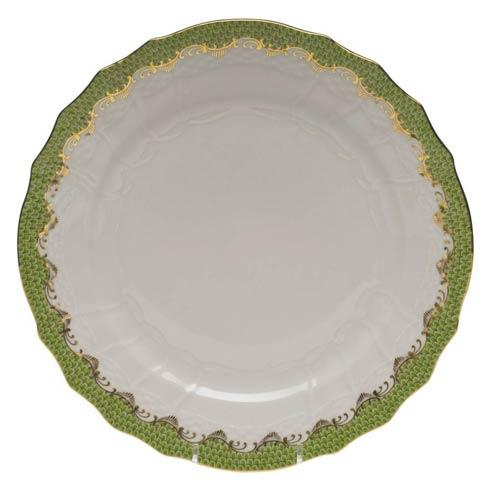 Herend Fish Scale Evergreen Service Plate - Evergreen $335.00