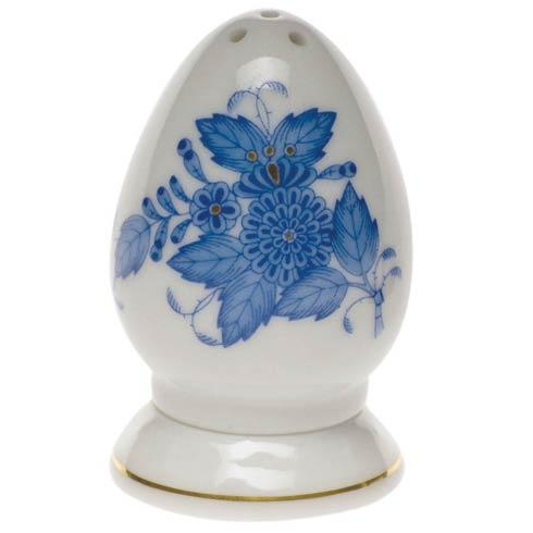 Herend Chinese Bouquet Blue Salt Shaker Multi Hole  2.5