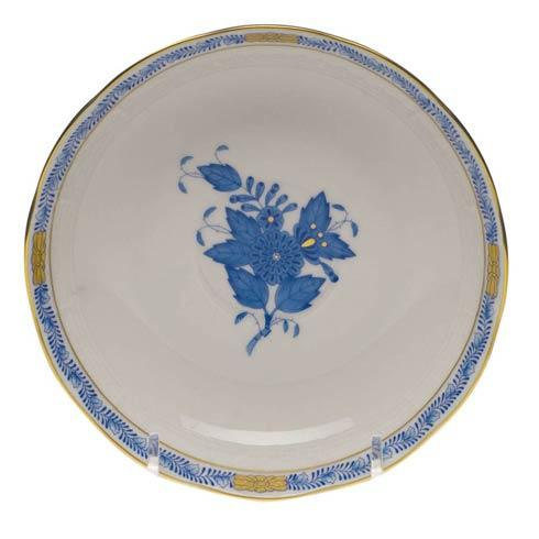 "Herend  Chinese Bouquet Blue Mocha Saucer  5.5"" D $60.00"