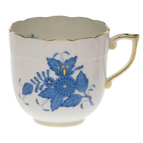 Herend  Chinese Bouquet Blue Mocha Cup  (4 Oz) $95.00
