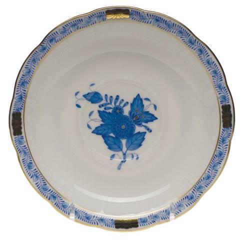 """Herend  Chinese Bouquet Blue Tea Saucer  6"""" D $55.00"""