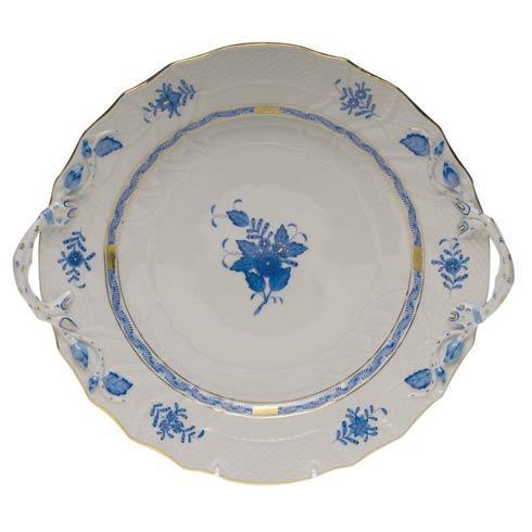 "$455.00 Chop Plate W/Handles  12"" D"