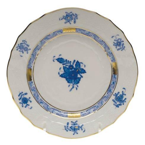 Herend Chinese Bouquet Blue Bread & Butter Plate  6