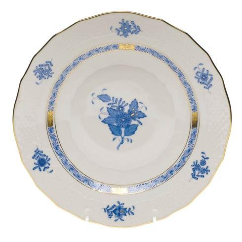 "Herend  Chinese Bouquet Blue Dessert Plate  8.25"" D $115.00"