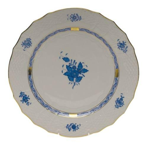 Herend Collections Chinese Bouquet Blue Service Plate   $175.00