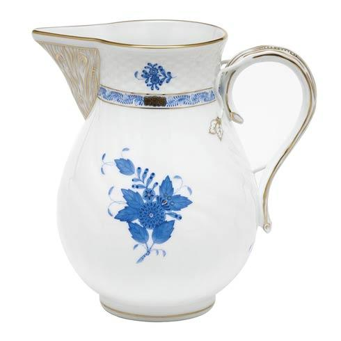 Herend Collections Chinese Bouquet Blue Pitcher -  Blue $375.00