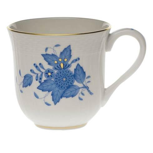 Herend Chinese Bouquet Blue Mug  (10 Oz) 3.5