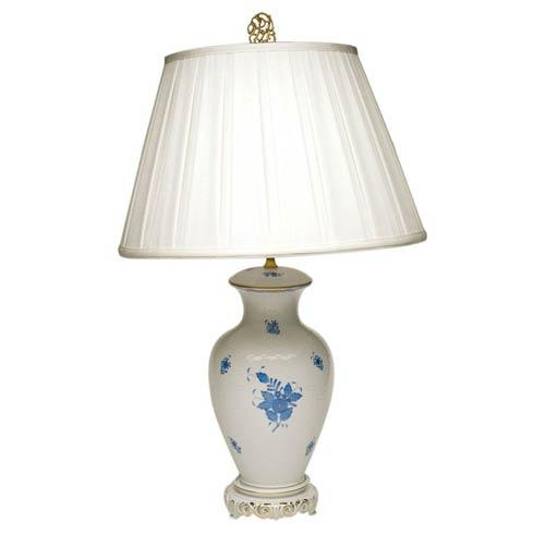 Basketweave Lamp W/Shade 30