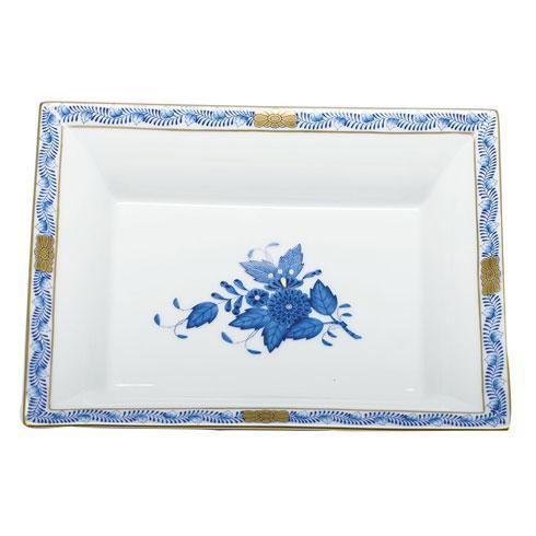 Herend Collections Chinese Bouquet Blue Jewelry Tray $195.00