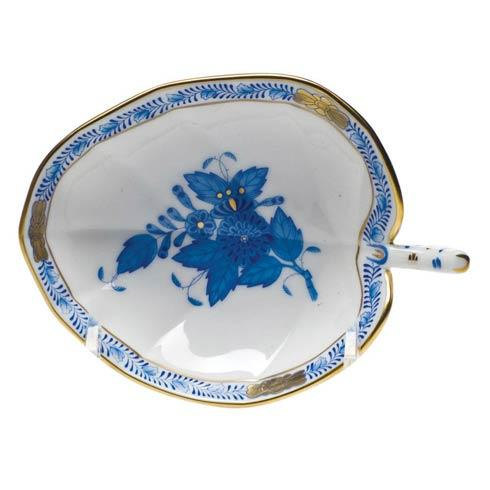 Herend Collections Chinese Bouquet Blue Leaf Tray   $95.00