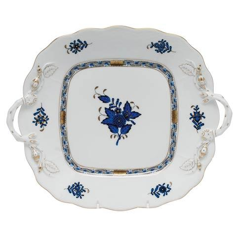 Square Cake Plate w/handles