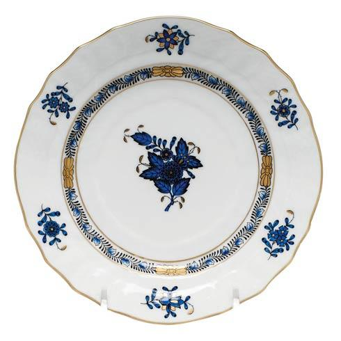 Herend  Chinese Bouquet Black Sapphire Bread & Butter Plate $80.00