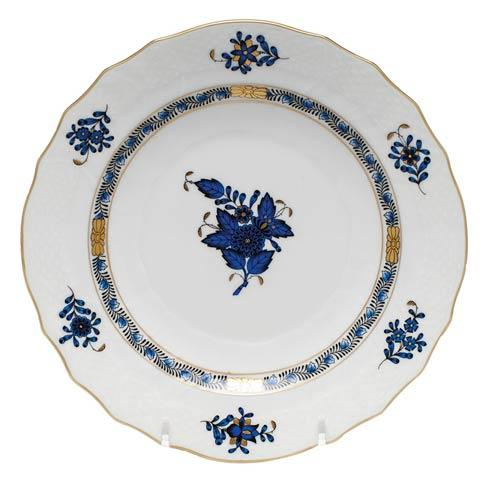 Herend  Chinese Bouquet Black Sapphire Salad Plate $100.00