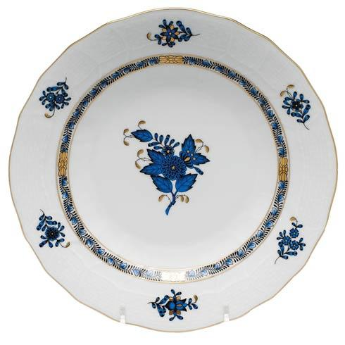 Herend  Chinese Bouquet Black Sapphire Dessert Plate $115.00
