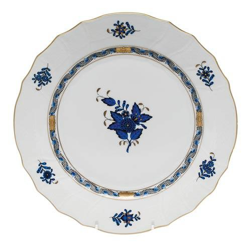 Herend Chinese Bouquet Black Sapphire Dinner Plate $145.00