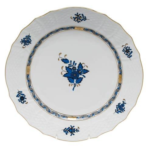 Herend Collections Chinese Bouquet Black Sapphire Service Plate $175.00