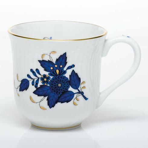 Herend Chinese Bouquet Black Sapphire Mug $135.00