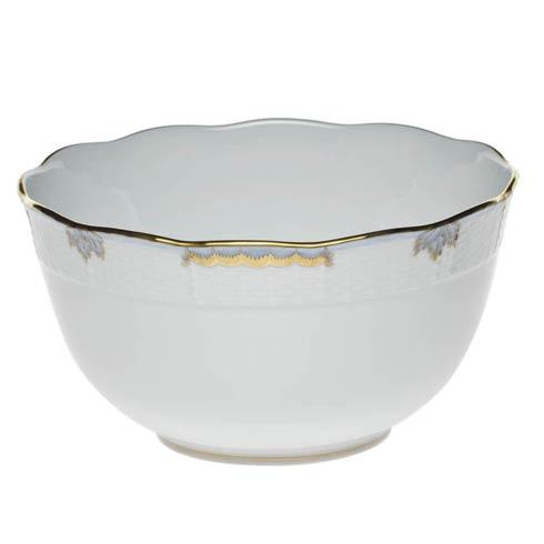 Herend  Princess Victoria Light Blue Round Bowl $135.00