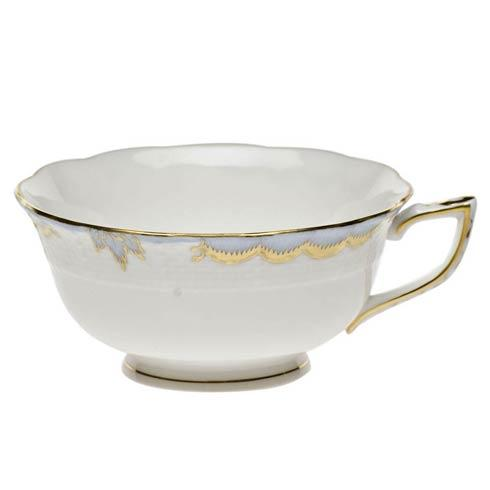 Herend Princess Victoria Light Blue Tea Cup $85.00