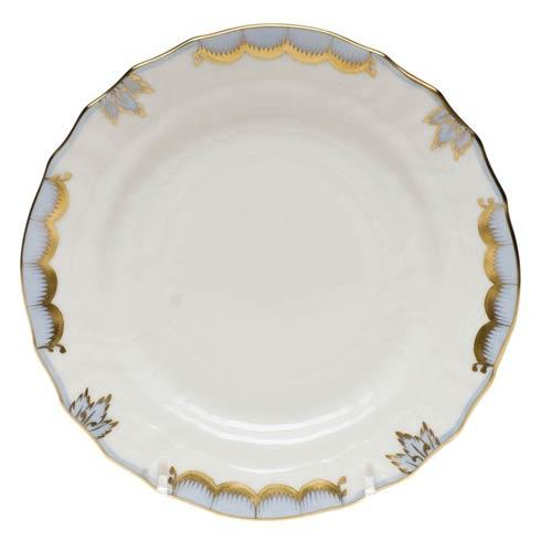 Herend Princess Victoria Light Blue Bread & Butter Plate $70.00