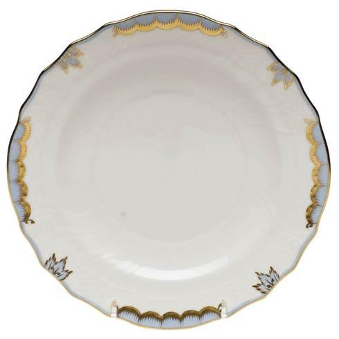 Herend Princess Victoria Light Blue Salad Plate $80.00