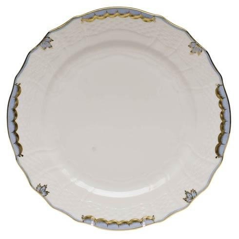 Herend Princess Victoria Light Blue Service Plate $135.00