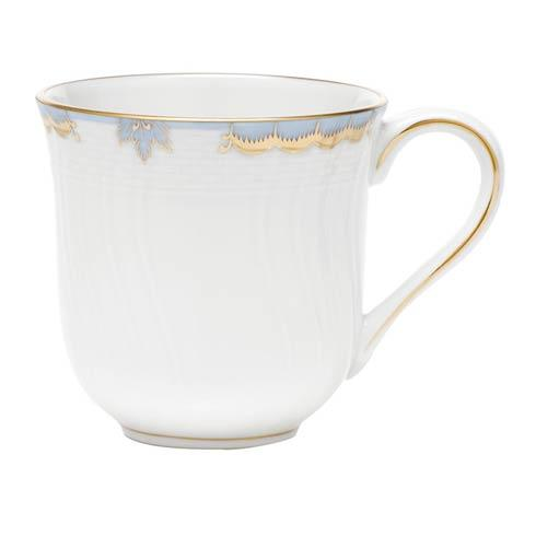 Herend Princess Victoria Light Blue Mug - Multicolor $120.00
