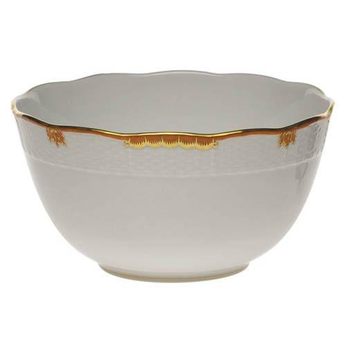 Herend Princess Victoria Rust Round Bowl $135.00