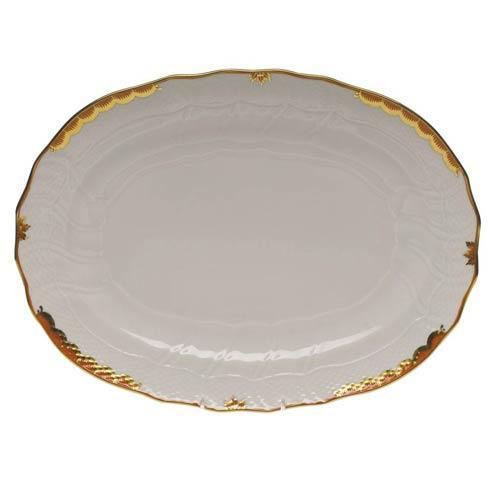 Herend Princess Victoria Rust Platter $360.00