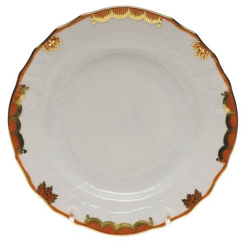 Herend Princess Victoria Rust Bread & Butter Plate $70.00