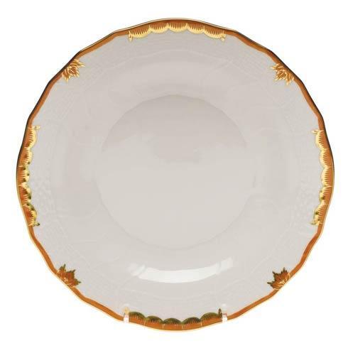 Herend Princess Victoria Rust Dessert Plate $85.00