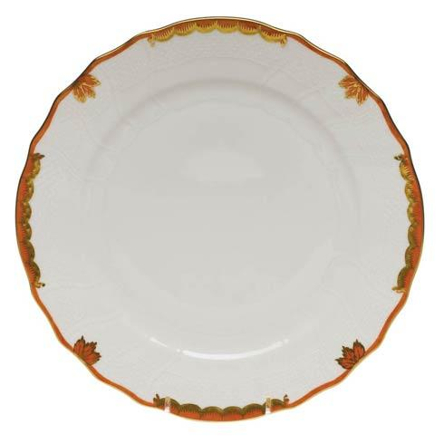 Herend  Princess Victoria Rust Dinner Plate $110.00