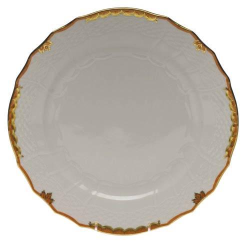 Herend Princess Victoria Rust Service Plate $135.00